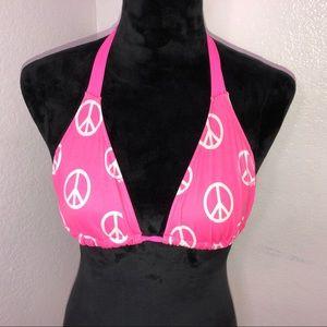 Small Victoria's Secret pink bikini top